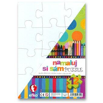 Obrázek produktu Puzzle Namaluj si sám - obdelník - 12 dílků