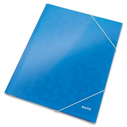 Product image Leitz Wow - 3-flap folder - A4, blue