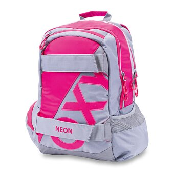 Obrázek produktu Studentský batoh OXY Sport Neon Line - Pink