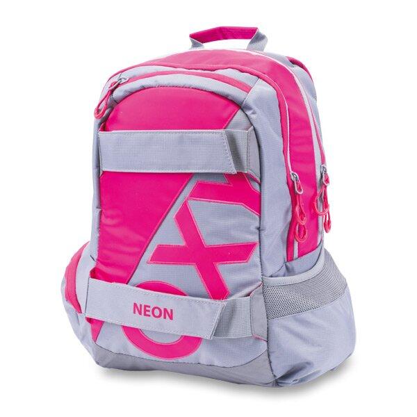 Studentský batoh OXY Sport Neon Line - Pink 23fc7e0253