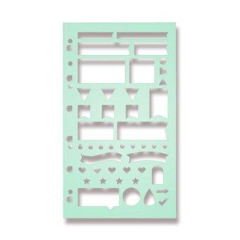 Obrázek produktu Šablona na plánování - náplň osobních/A5 diářů Filofax