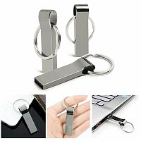 USB flash disk 2.0, 8 GB, gunmetal