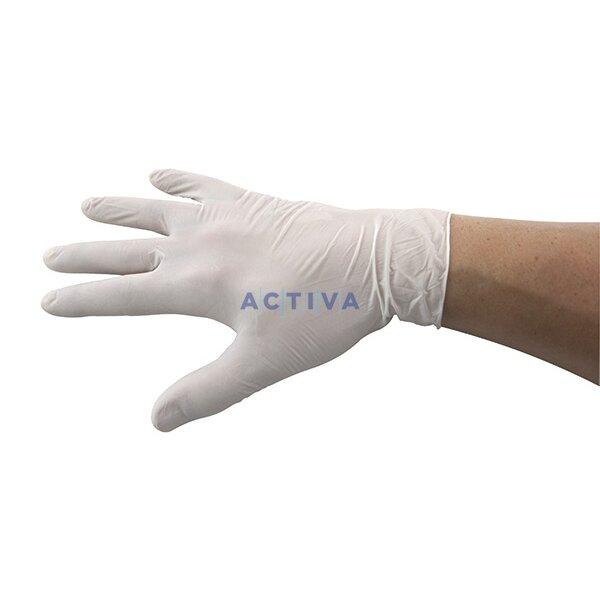 d6211f15a5c Jednorázové latexové rukavice pudrované - vel. M