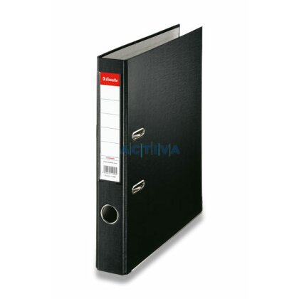 Obrázek produktu Esselte Economy - pákový pořadač - 50 mm, černý