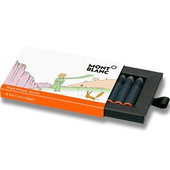 Obrázek produktu Inkoustové bombičky Monblanc Le Petit Prince and Fox - 8 ks, oranžové