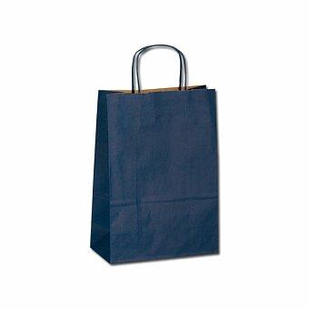Obrázek produktu TWISTER - papírová dárková taška, 23x10x32 cm, výběr barev - bílá