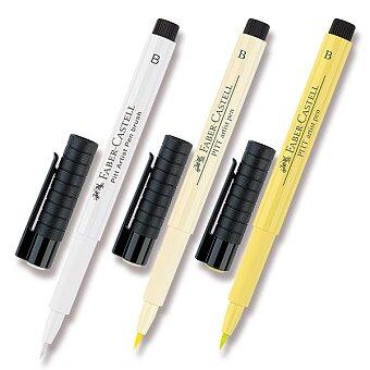 Obrázek produktu Popisovač Faber-Castell Pitt Artist Pen Brush - žluté a oranžové odstíny - výběr barev