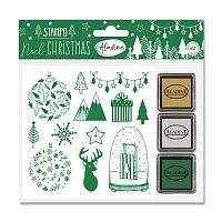 Razítka Stampo Nöel Aladine - Vánoční les