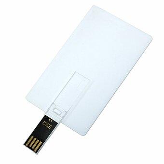 Obrázek produktu USB flash disk 2.0 karta, 8 GB, bílá