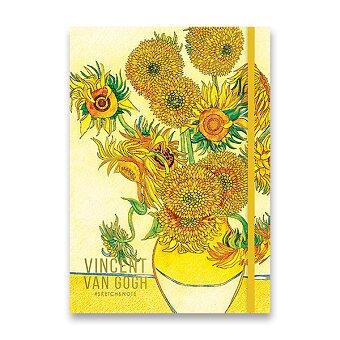 Obrázek produktu Náčrtník Shkolyaryk Sketch & Note Art - A5, tečkovaný, 80 listů, mix motivů