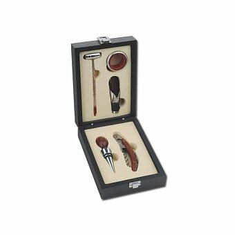 Obrázek produktu CLAYTON - 5dílná sada na víno v dřevěné dárkové krabičce
