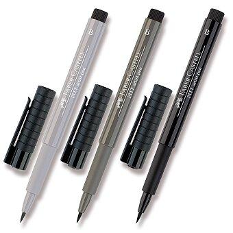Obrázek produktu Popisovač Faber-Castell Pitt Artist Pen Brush - černé a šedé odstíny - výběr barev