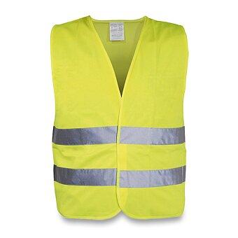 Obrázek produktu Výstražná vesta pro dospělé - žlutá