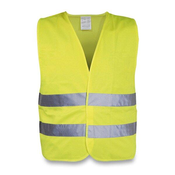 Výstražná vesta pro dospělé žlutá