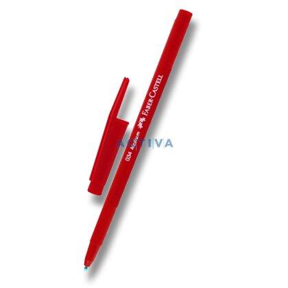 Obrázek produktu Faber-Castell 034 Medium - jednorázová kuličková tužka - červená