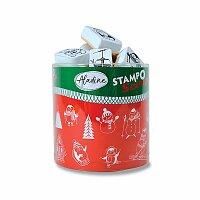 Razítka Stampo Scrap - Zimní hrátky