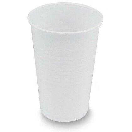 Obrázek produktu Plastové bílé kelímky - 0,3 l, 100 ks