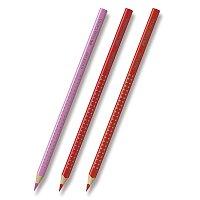 Pastelka Faber-Castell Grip 2001 - červené a růžové odstíny