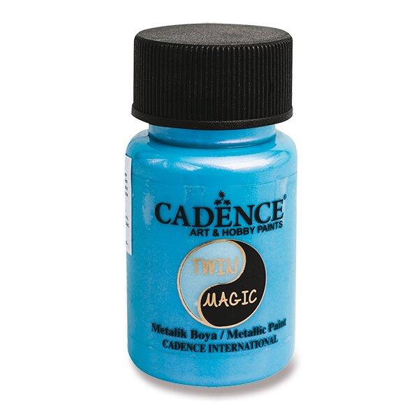 Metalická barva Cadence Twin Magic fial./modrá