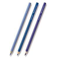Pastelka Faber-Castell Grip 2001 - modré odstíny