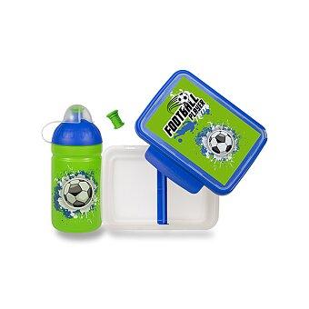 Obrázek produktu Set Zdravá lahev 0,5 l a Zdravá sváča - Fotbal