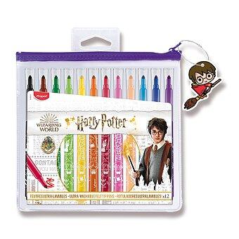 Obrázek produktu Dětské fixy Maped Color'Peps Harry Potter - 12 barev, pouzdro na zip