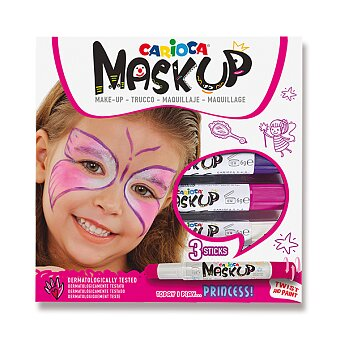 Obrázek produktu Obličejové barvy Carioca Mask Up Princess - 3 barvy
