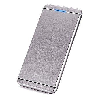 Obrázek produktu Power bank ultratenká, kovová, 5000mAh