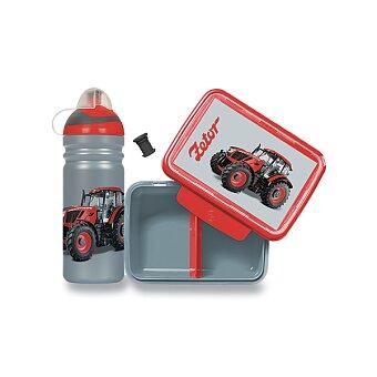 Obrázek produktu Set Zdravá lahev 0,7 l a Zdravá sváča - Zetor
