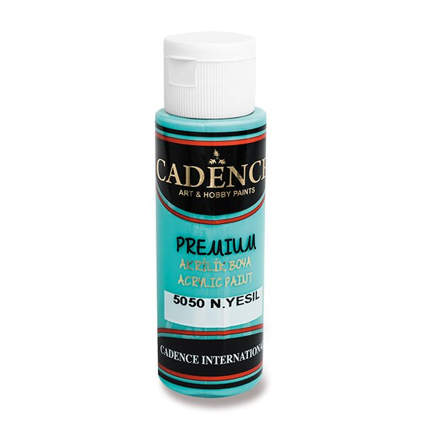 Akrylové barvy Cadence Premium sv. tyrkysová