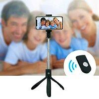 Selfie tyčka Tripod Bluetooth