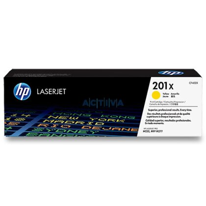 Obrázek produktu HP - toner CF402X, yellow (žlutý) pro laserové tiskárny
