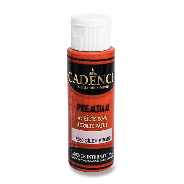 Akrylové barvy Cadence Premium červená