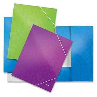 Obrázek produktu 3chlopňové desky Leitz Wow - A4, max 250 listů, výběr barev