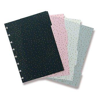 Obrázek produktu A5 Rozřazovač Confetti - náplň A5 zápisníků Filofax Notebook