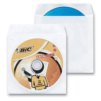 Obrázek produktu CD Cover - obálka na CD/DVD - 100 ks