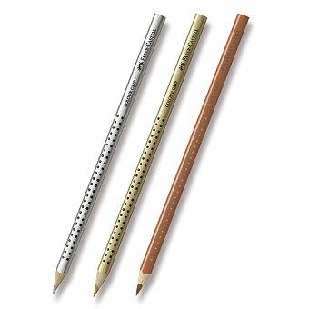 Obrázek produktu Pastelka Faber-Castell Grip 2001 - hnědé a metalické odstíny - výběr barev