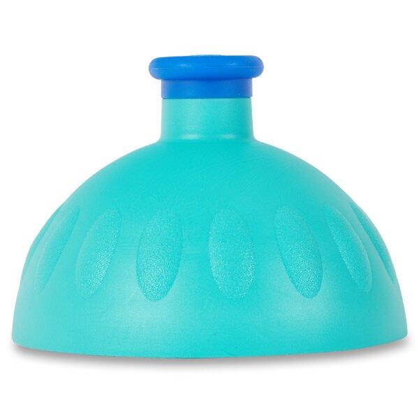 Kompletní víčko Zdravá lahev tyrkysové/ tmavě modrá zátka