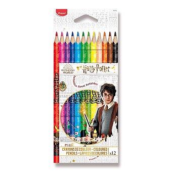 Obrázek produktu Pastelky Maped Color'Peps Harry Potter - 12 barev