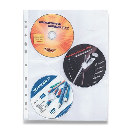 Obrázek produktu OA - zakládací obal na CD - A4, 10 ks