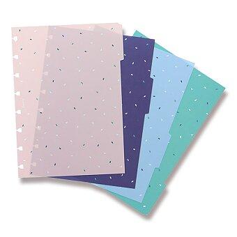 Obrázek produktu A5 Rozřazovač Garden - náplň A5 zápisníků Filofax Notebook