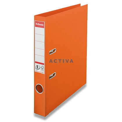 Obrázek produktu Esselte No. 1 Power Solea - plastový pákový pořadač - 50 mm, oranžový