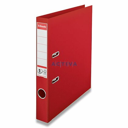 Obrázek produktu Esselte No. 1 Power - plastový pákový pořadač - 50 mm, červený