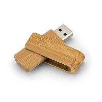 USB flash disk 2.0 dřevěný TWISTER, 16GB