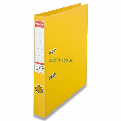 Obrázek produktu Esselte No. 1 Power - plastový pákový pořadač - 50 mm, žlutý