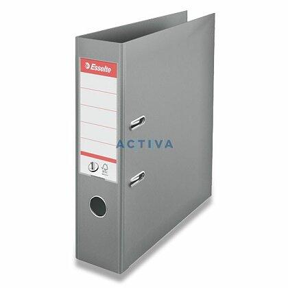 Obrázek produktu Esselte No. 1 Power - plastový pákový pořadač - 75 mm, šedý