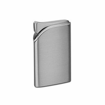 Obrázek produktu HARDY - kovový plnitelný piezo zapalovač, větruodolný, výběr barev - gunmetal
