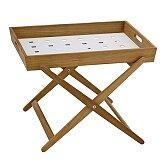 Odkládací skládací stůl Cane-line Amaze Folding Table