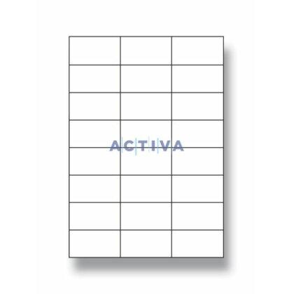 Obrázok produktu OA - samolepiace etikety - 70,0×37,0 mm, 2400 etikiet