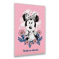 Desky na abecedu Minnie Mouse